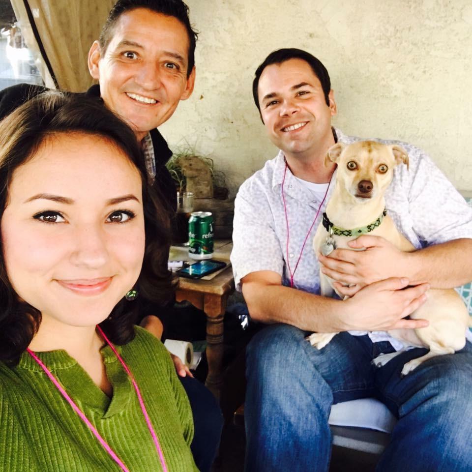 Juan & Aaron Ceja-Warson, with Sasha, Ileana & Sofia