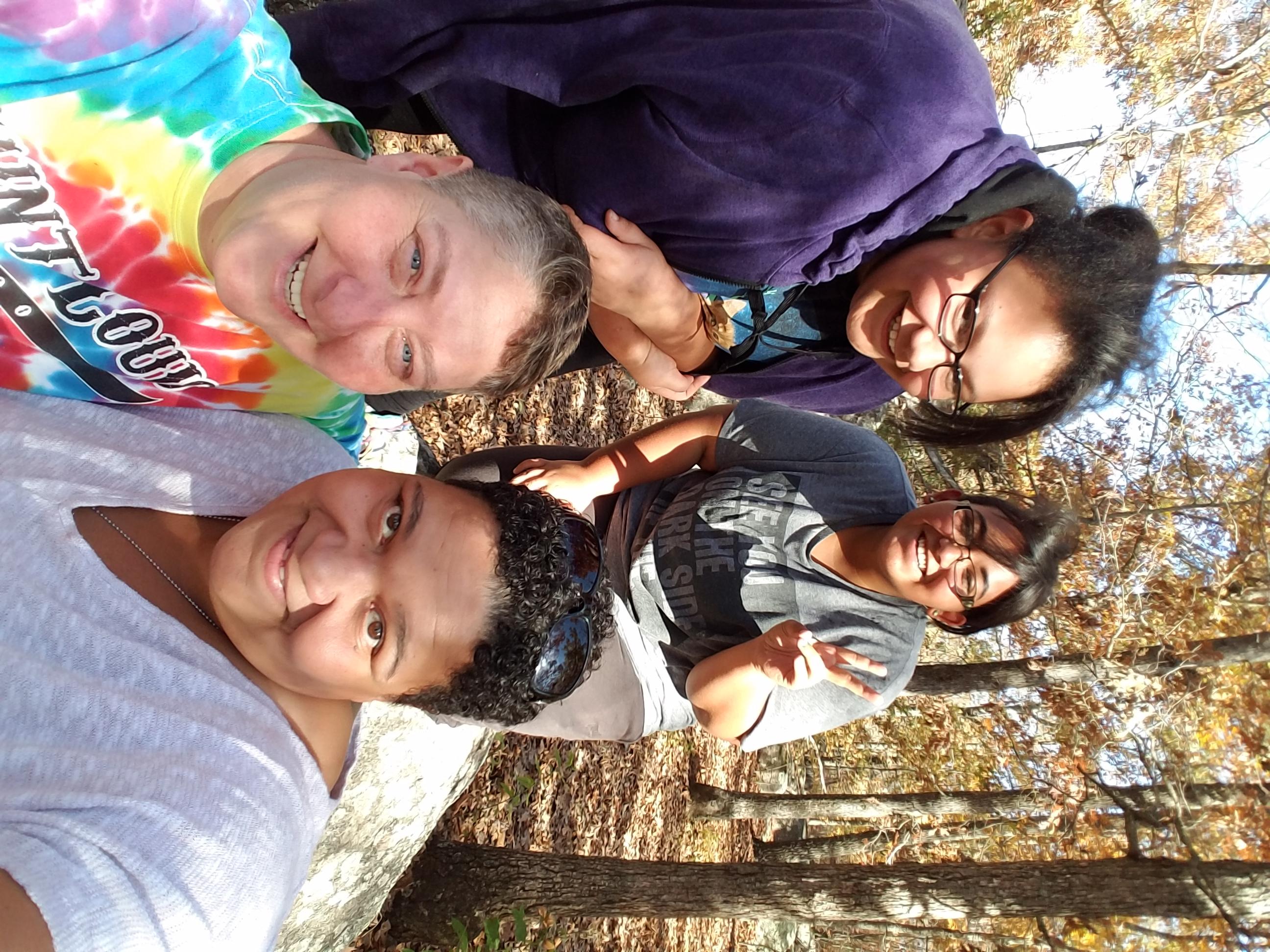Phaedra, Danie, with Zoe,marisa
