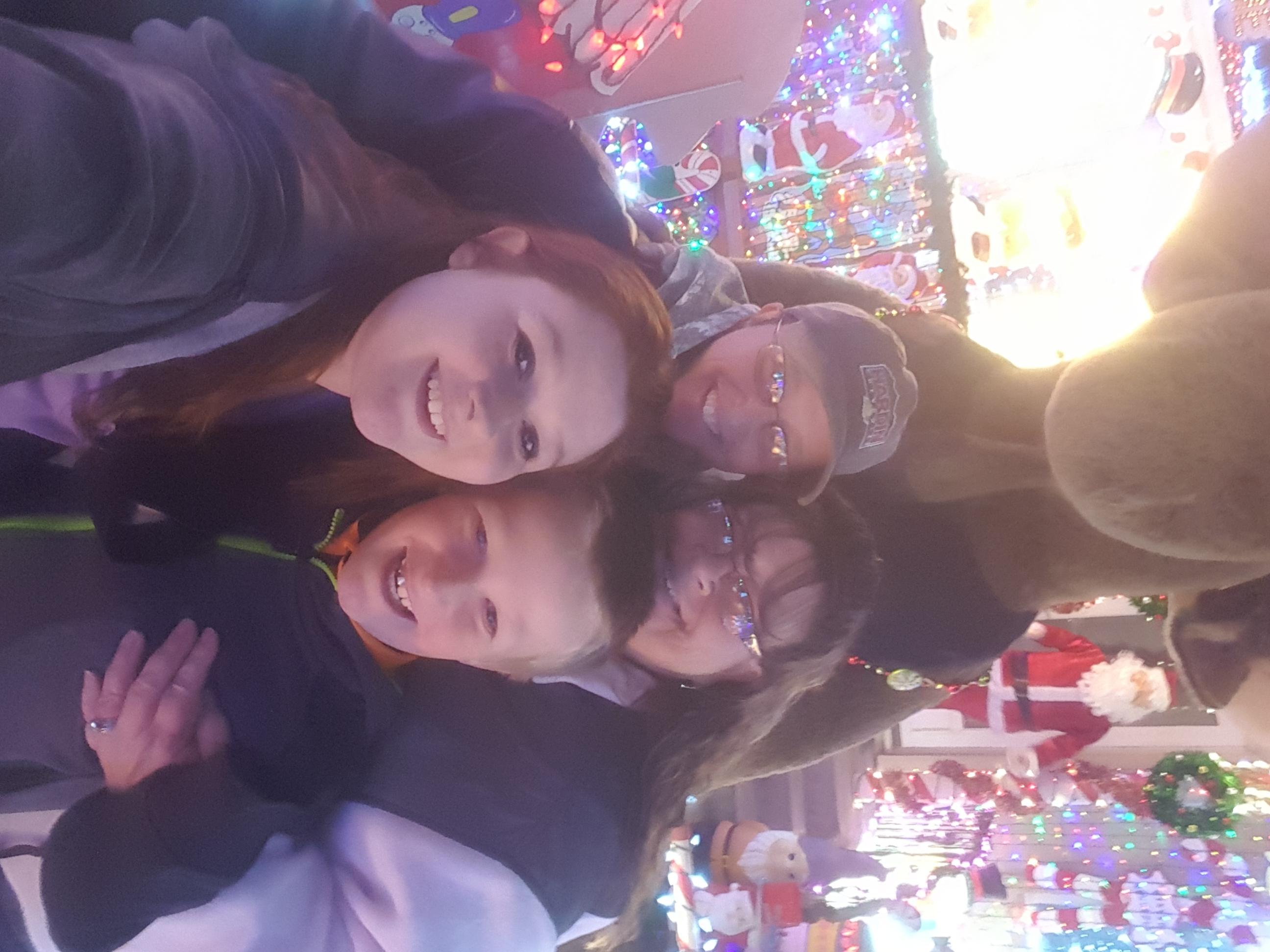JoLynn, Alexis, with Elyessa, Jacob