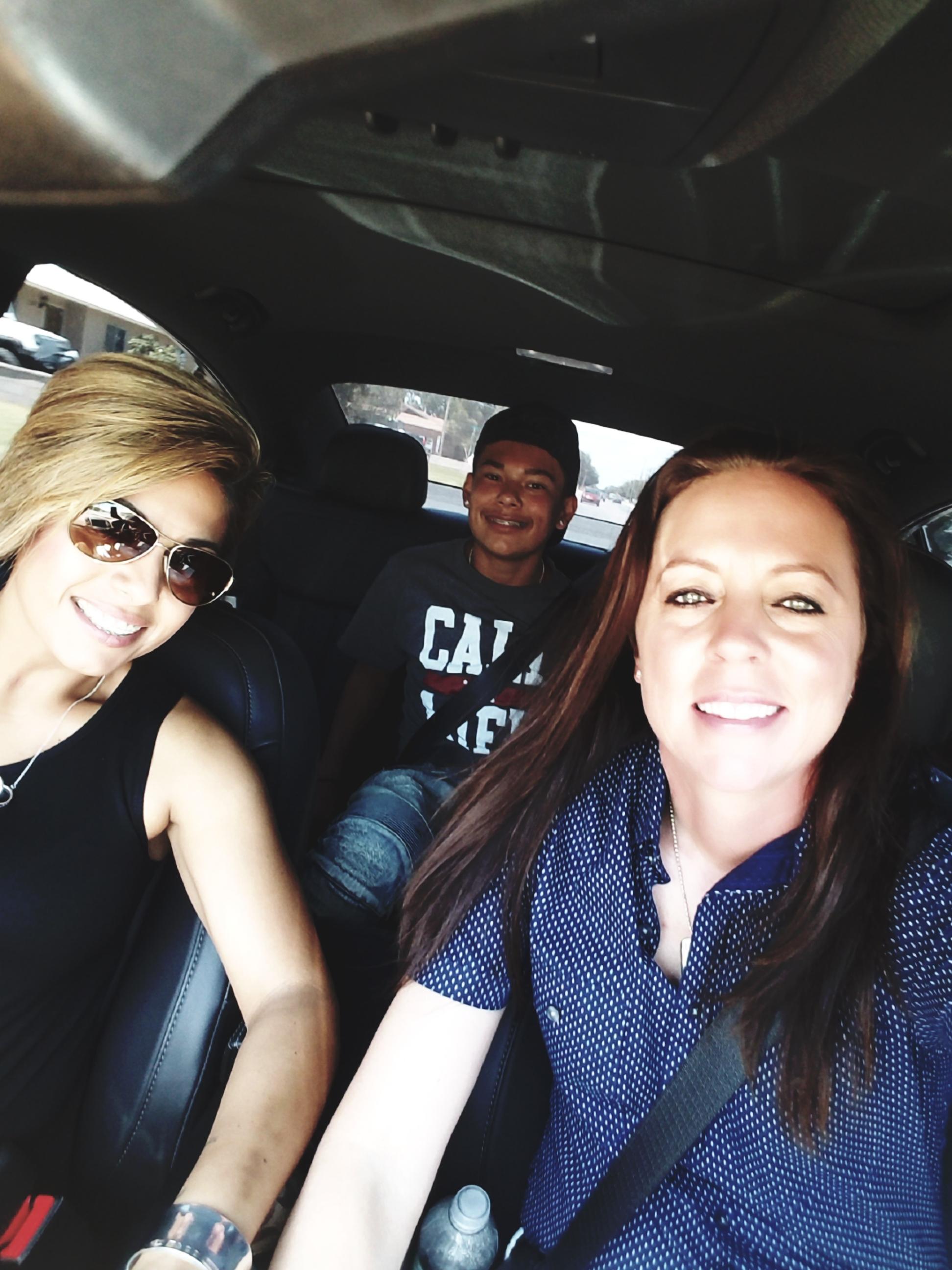 Cody & Michelle, with Azi