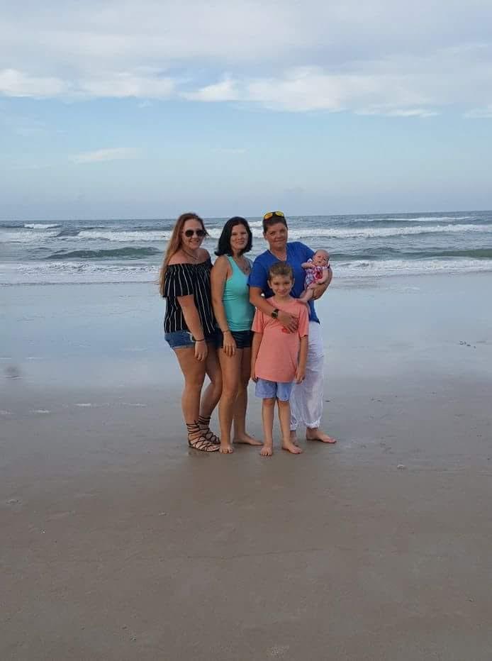 Jessica & Candi, with Madison, Austin, Lakyn