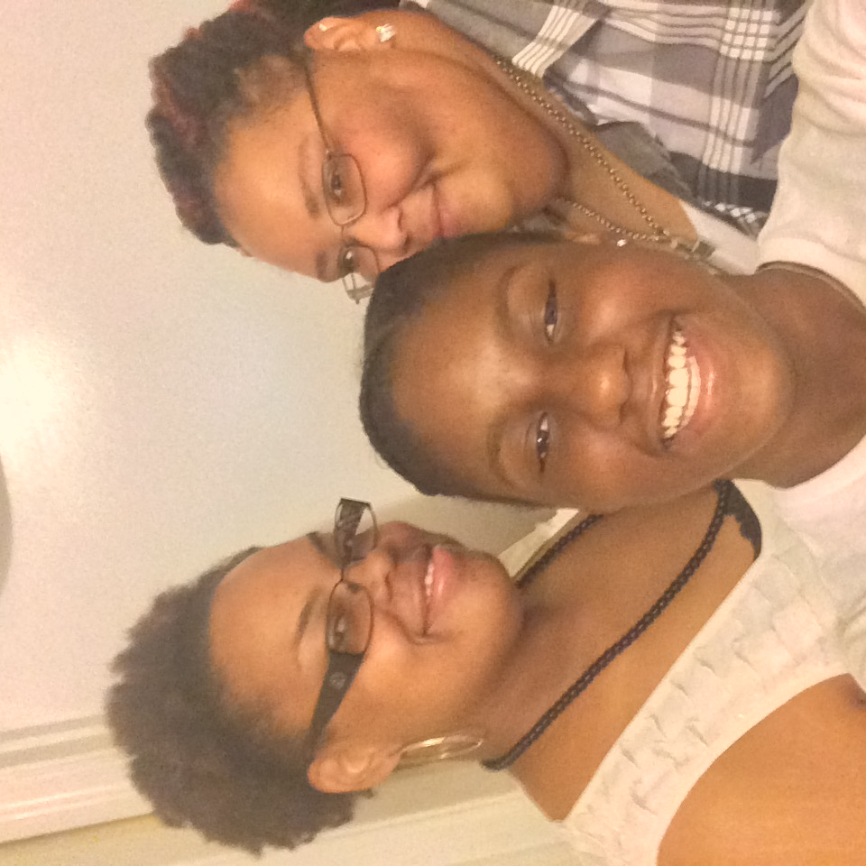 Melody and Sherelle, with Zyma