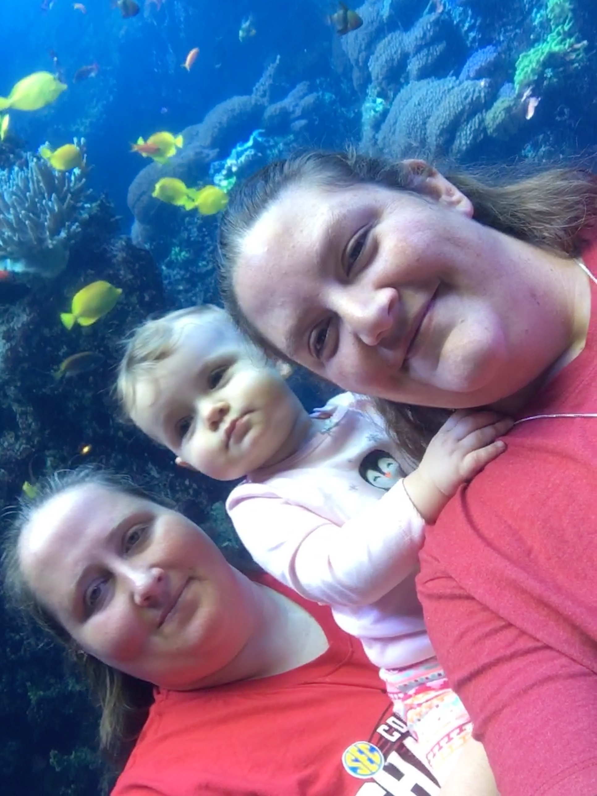 Suzanne and Kendra, with Elizabeth